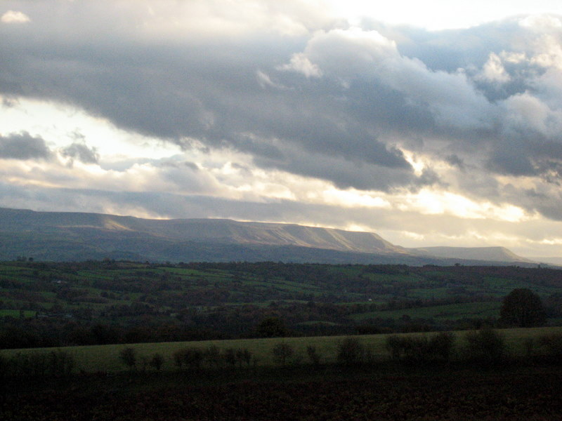 View of Hay Bluff
