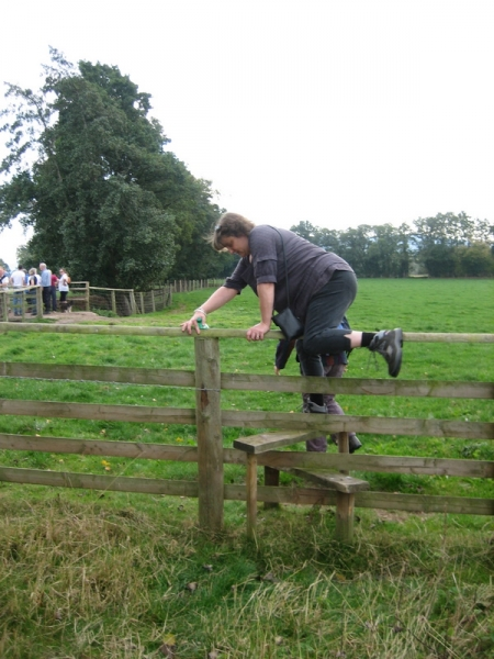 Another stile to negotiate.