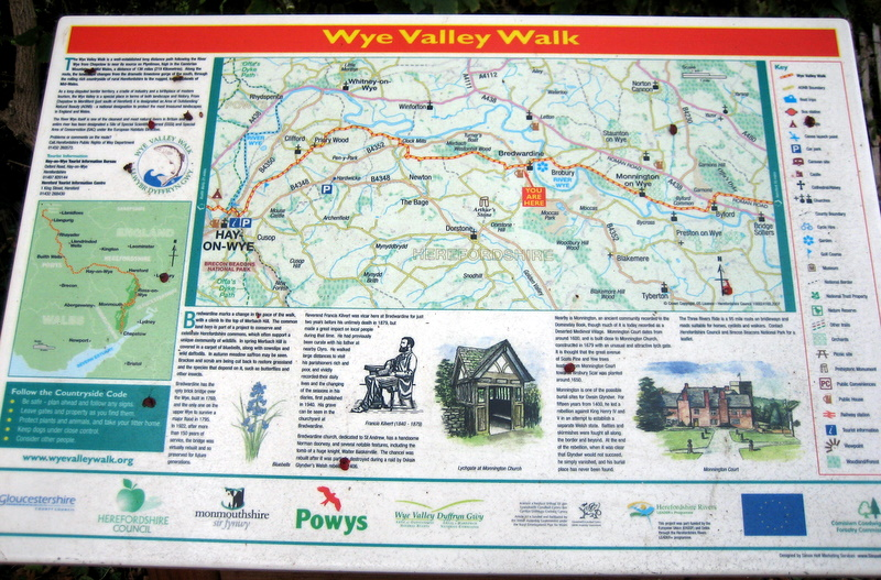 All part of the Wye Valley Walk